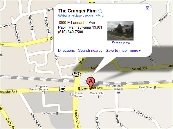 The Granger Firm - Our Location